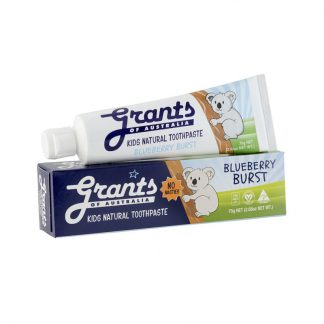 Grants of Australia – 澳洲天然幼兒牙膏藍莓味Kids Blueberry Toothpaste