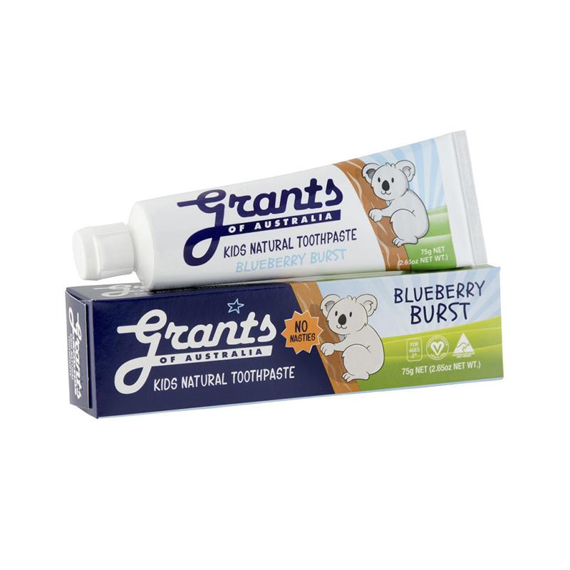 Grants of Australia – 澳洲天然幼兒牙膏藍莓味Kids Blueberry Toothpaste