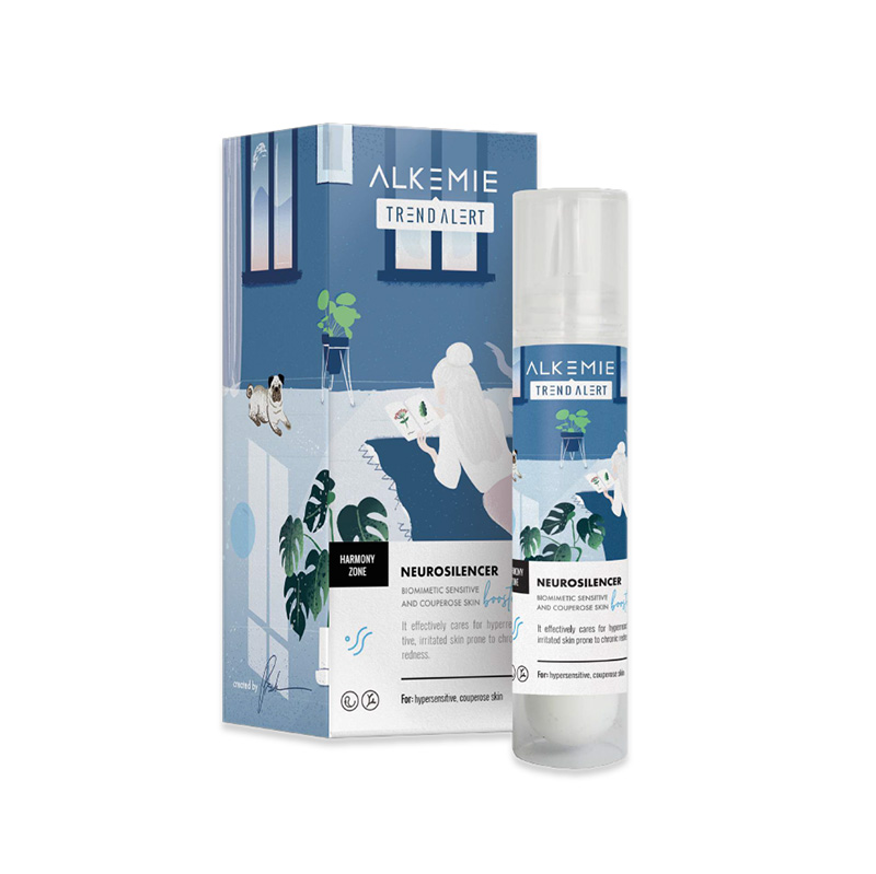 Alkemie Neurosilencer - Biomimetic sensitive and couperose skin booster 天然防敏舒緩修復精華