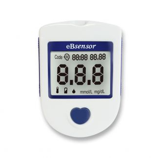 eBsensor 血糖檢測機套組 (包含血糖試紙10片)